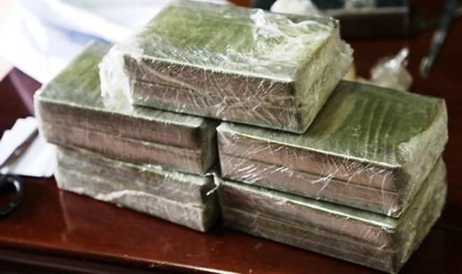 Số ma túy là tang vật mà cơ quan công an thu giữ được (ảnh: N.T)