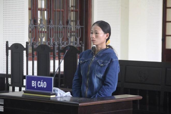 Vi Thị Phương trong phiên xét xử