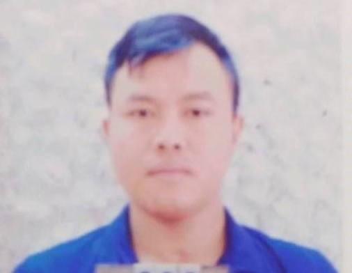 Nguyễn Văn Giang tại cơ quan công an