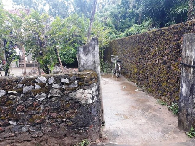 Ngôi nhà nơi anh Tr. bị đâm tử vong