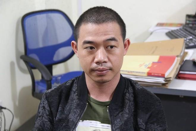 Nguyễn Văn Vương chính là kẻ cầm đầu nhóm thanh niên này (ảnh công an cung cấp)