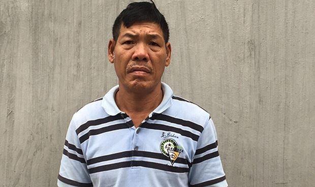 Nguyễn Quang Năm đang bị tạm giữ để điều tra về hành vi mang dao vào trụ sở UBND phường tìm chủ tịch nói chuyện (ảnh A.Q)