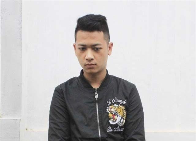 Nguyễn Cao Cường tại cơ quan công an