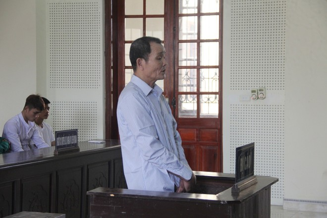 Vi Đình Hoa trong phiên xét xử