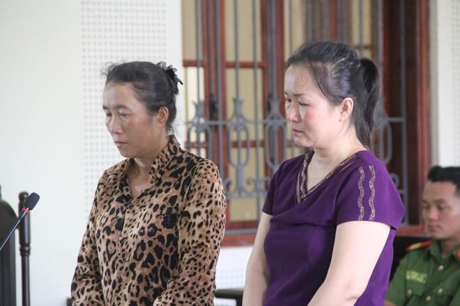 Hai chị em Vân và Thường trong phiên xét xử