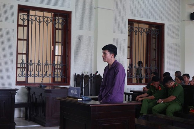 Nguyễn Ngọc Ích trong phiên xét xử