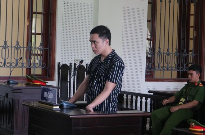 Lô Văn Đức trong phiên xét xử