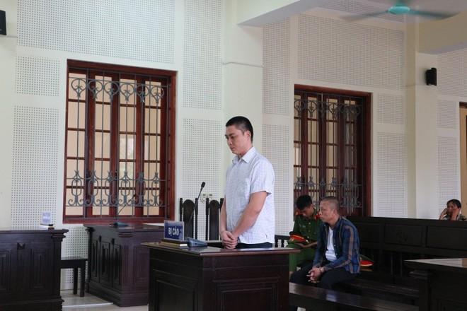 Lô Văn Tuấn trong phiên xét xử