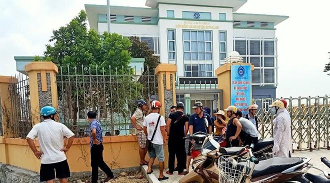 Bảo hiểm xã hội Quỳnh Lưu nơi xảy ra sự việc