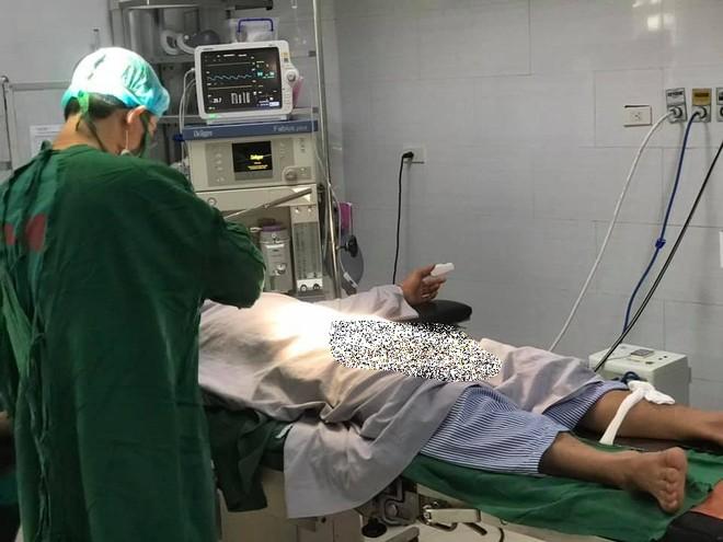 Sau khi được phẫu thuật kịp thời, hiện bệnh nhân đang hồi phục tốt