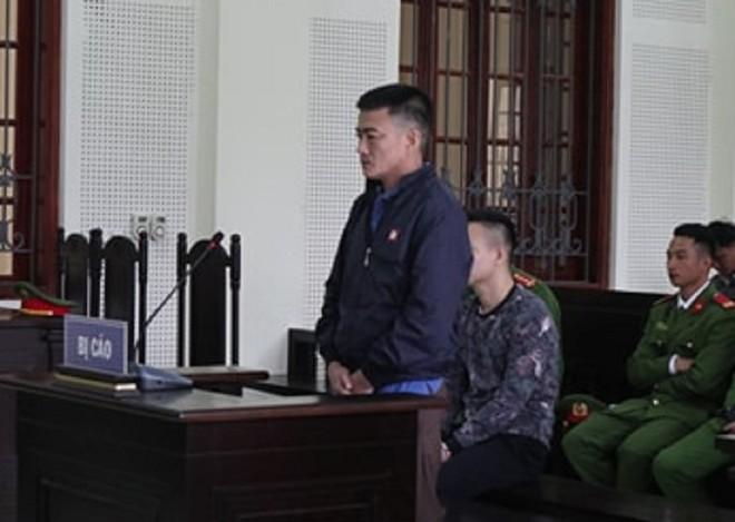 Vũ Văn Sơn trong phiên xét xử