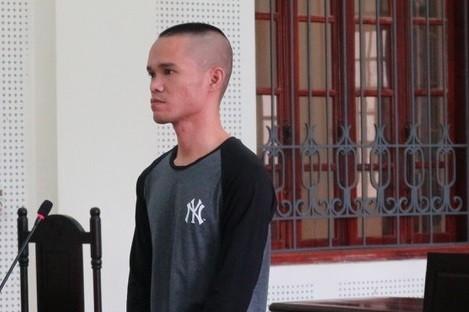 Khanh trong phiên xét xử