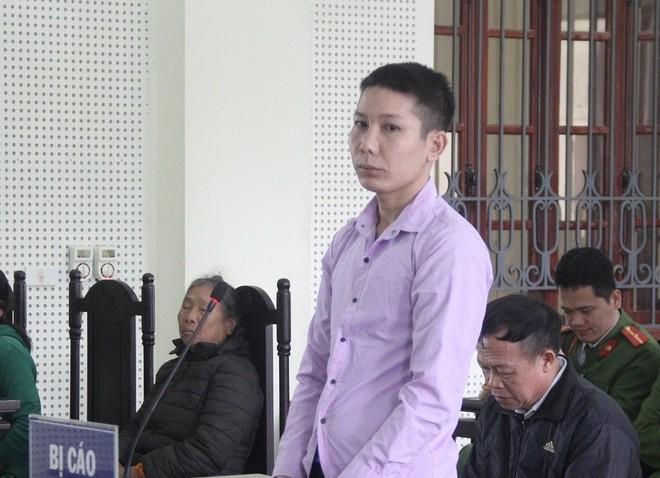 Cao Văn Sỹ trong phiên xét xử