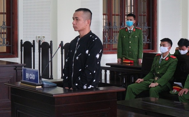 Lữ Văn Tường trong phiên xét xử