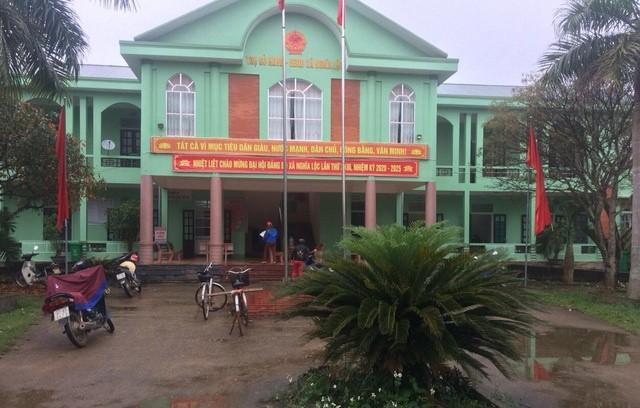 UBND xã Nghĩa Lộc nơi xảy ra vụ trộm