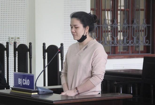 Lê Thị Hiền trong phiên xét xử