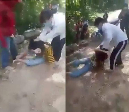 Đánh bạn học trong rừng, hai nữ sinh bị cảnh cáo