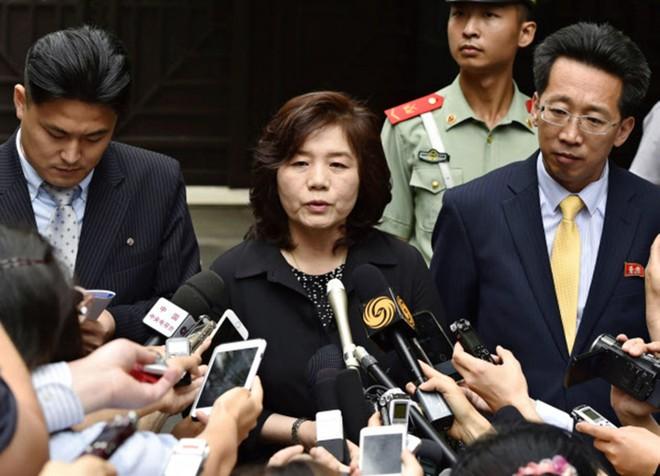Vụ trưởng Vụ Bắc Mỹ của Bộ Ngoại giao Triều Tiên Choe Son-hui