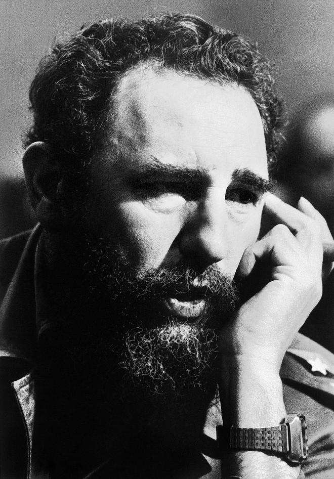 Chủ tịch Cuba trong cuộc họp báo năm 1976