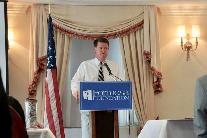 Ông Randall Schriver trong một lần phát biểu về dự án Project 2049 Institute