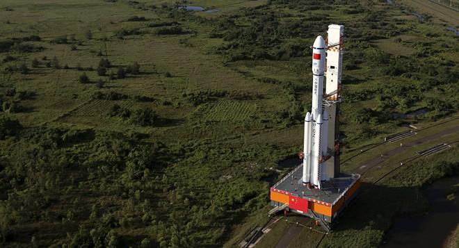Trung Quốc thực hiện phóng tàu vũ trụ vận tải đầu tiên Thiên Chu-1