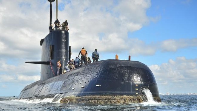 Tàu ngầm ARA San Juan mất tín hiệu cách đây 5 ngày