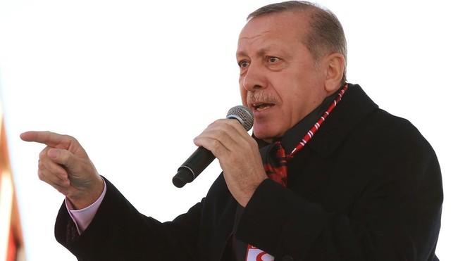 """Tổng thống Thổ Nhĩ Kỳ Recep Tayyip Erdogan gọi Israel là """"nhà nước khủng bố"""""""