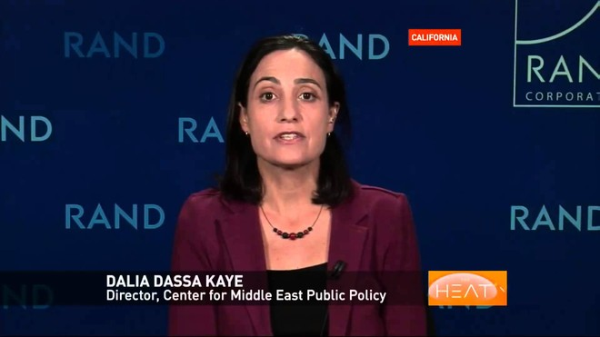 Bà Dalia Dassa Kaye, Giám đốc Trung tâm nghiên cứu chính sách công Trung Đông
