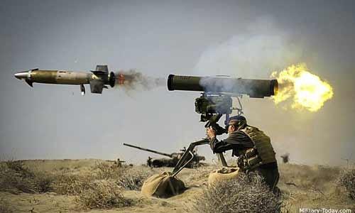 Tên lửa dẫn đường chống tăng Spike của Israel