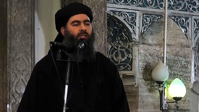 Abu Bakr al-Baghdadi, thủ lĩnh tối cao của IS