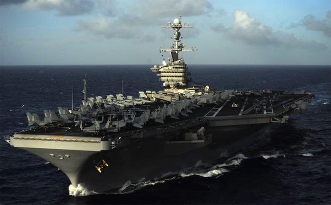 Tàu USS John C. Stennis của Mỹ đến Tây Thái Bình Dương