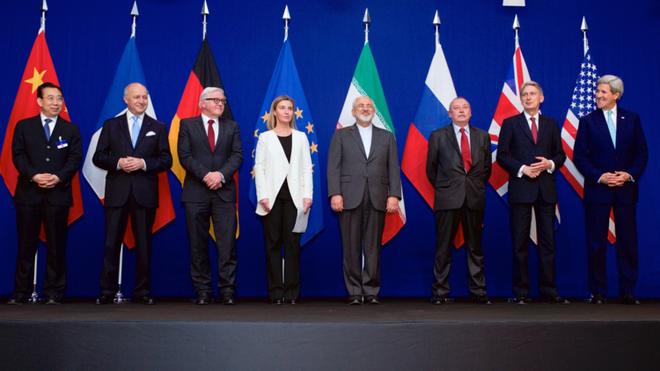 Thỏa thuận hạt nhân giữa Iran và nhóm P5+1 ký kết năm 2015