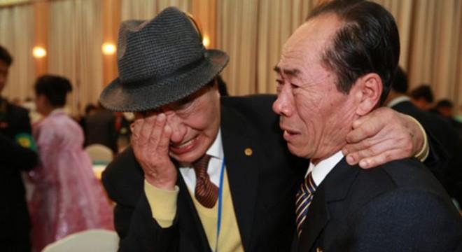 Một lần đoàn tụ gia đình giữa hai miền Triều Tiên