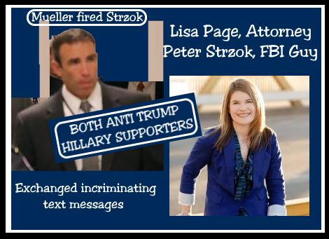 Đặc vụ phản gián FBI Peter Strzhok và luật sư Lisa Page