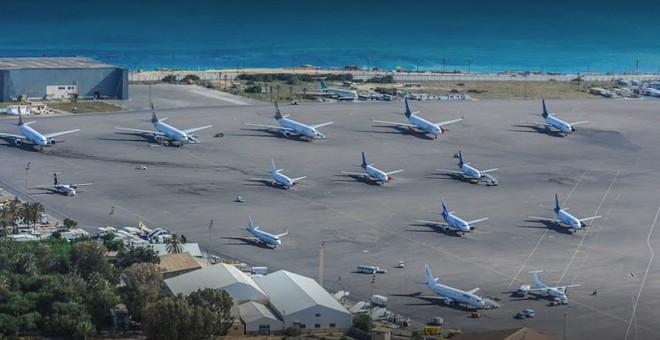 Mitiga, một căn cứ không quân cũ, được cải tạo thành sân bay dân dụng