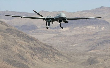 Máy bay không người lái trong một đợt không kích tiêu diệt các tay súng IS tại Afghanistan