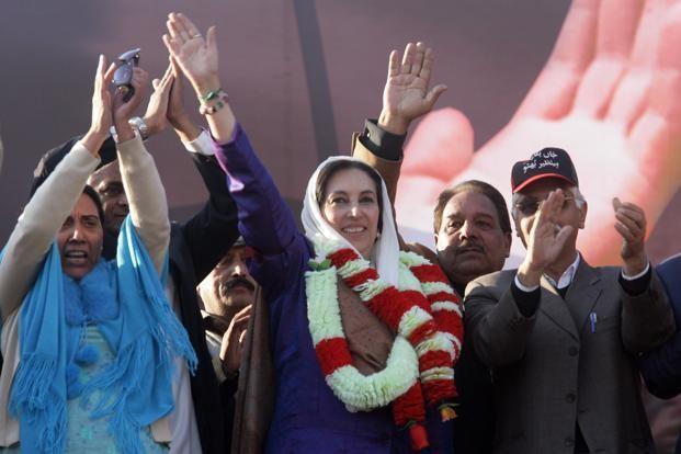 Cựu thủ tướng Pakistan Benazir Bhutto bị ám sát ngày 27/12/2007