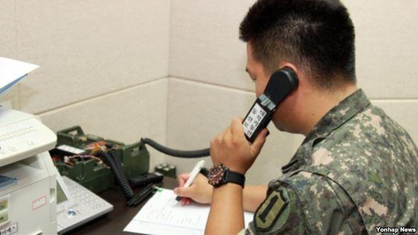 Đường dây quân sự hai miền Triều Tiên đã nối lại vào lúc 11h 02 phút ngày 17/1