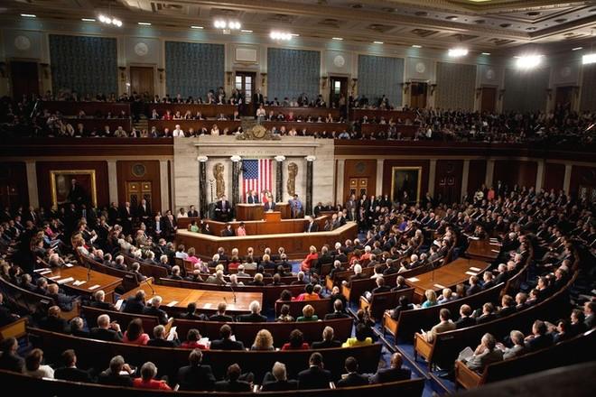 Một phiên họp của Quốc hội Mỹ