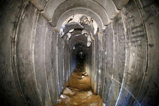 Bên trong đường hầm của phong trào Hamas