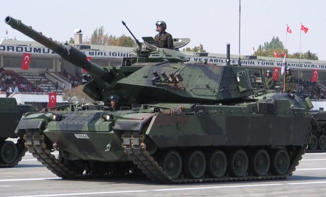 Xe tăng chiến đấu Leopard của quân đội Thổ Nhĩ Kỳ