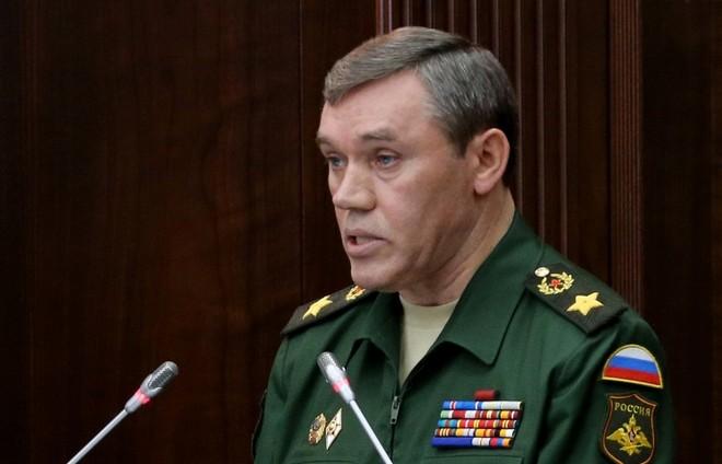 Tổng tham mưu trưởng các lực lượng vũ trang Nga, tướng Valery Gerasimov