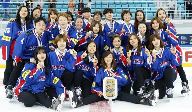 Đội nữ khúc côn cầu trên băng của Hàn Quốc