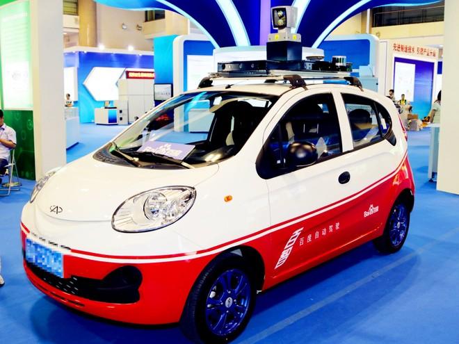 Một mẫu xe điện sản xuất tại Trung Quốc