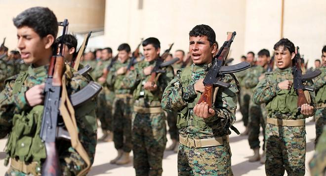 Các lực lượng Dân chủ Syria (SDF)