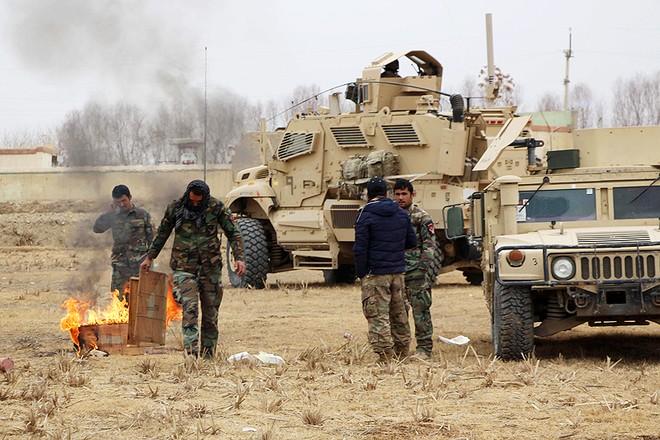 Quân đội và lực lượng an ninh Afghanistan mở chiến dịch tại tỉnh Ghazni, Afghanistan