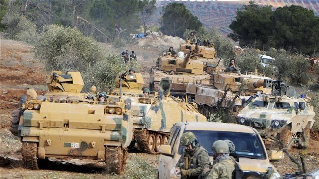Quân đội Thổ Nhĩ Kỳ nắm quyền kiểm soát ngọn núi Bursayah, khu vực Azaz, từ tay người Kurd ngày 28/1