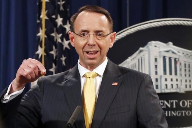 Thứ trưởng Bộ Tư pháp Mỹ Rob Rosenstein