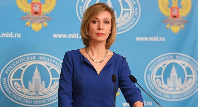 Người phát ngôn Bộ Ngoại giao Nga Maria Zakharova