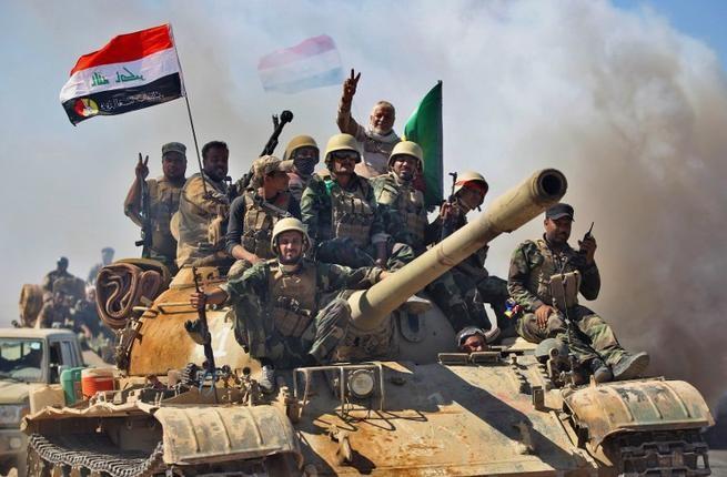 Lực lượng bán quân sự Hashed al-Shaabi góp công lớn trong cuộc chiến chống IS tại Iraq